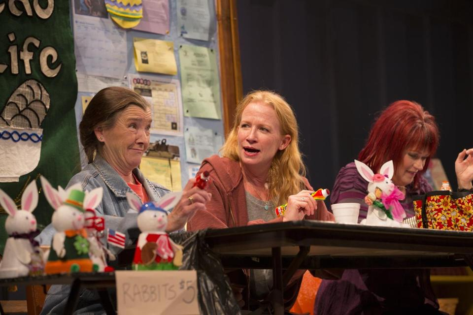 Nancy E. Carroll, Johanna Day, and Karen MacDonald are friends in David Lindsay-Abaire's compelling 'Good People.'