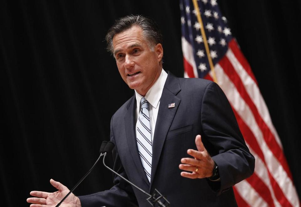 A number of Republican candidates have tried to distance themselves from some of Mitt Romney's recent remarks.