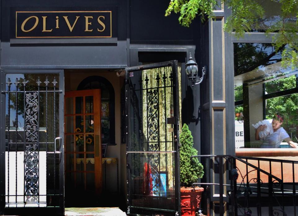 Olives reopened in April after an extended closure because of a grease fire.