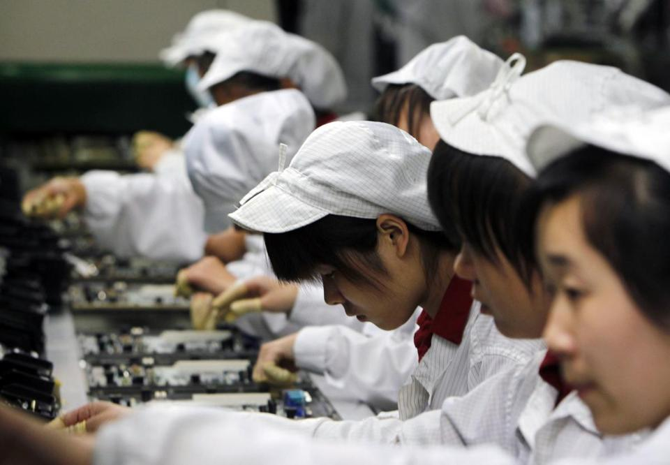A labor watch group suggested the Foxconn deaths were related to practices inside the factory in Henan Province, China.