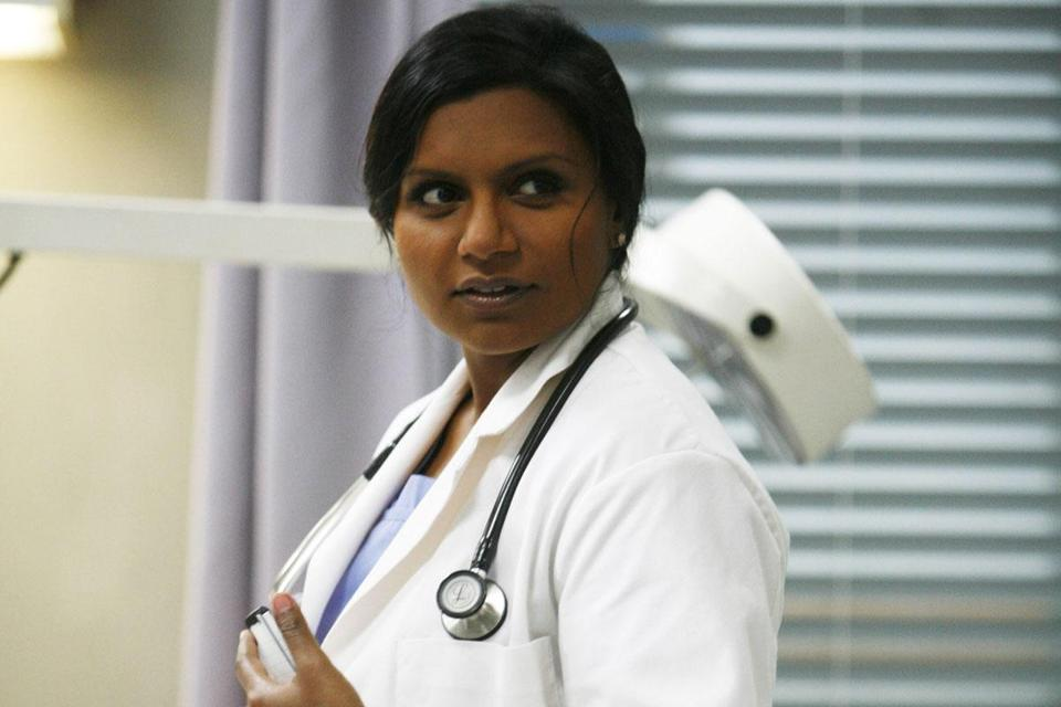 Mindy Kaling plays an ob/gyn, which was her mother's real-life profession.