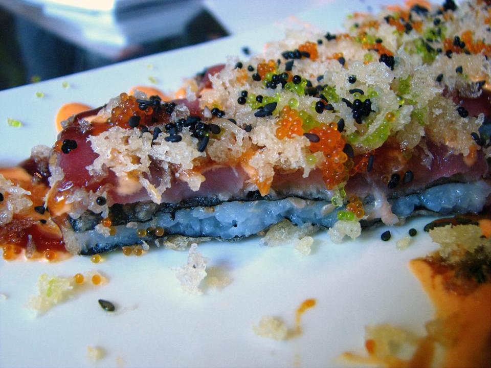 The Long Island maki is a feast for both eyes and palate.