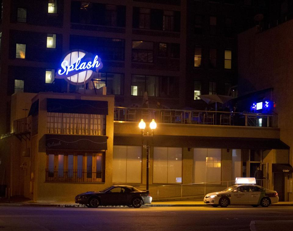 At Splash Ultra Lounge in Boston, police conducted a head count at a party Saturday and found overcrowding.