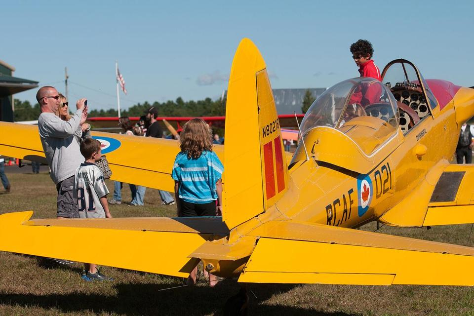 Visitors to Cranland Airport in Hanson viewed planes during the monthly Fly-In Breakfast on Sept. 16. The next is Oct. 21.