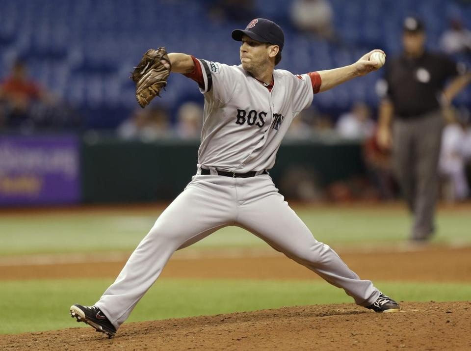 Red Sox relief pitcher Craig Breslow got a two-year, $6.25 million deal with a team option for 2015 worth $3.9 million.