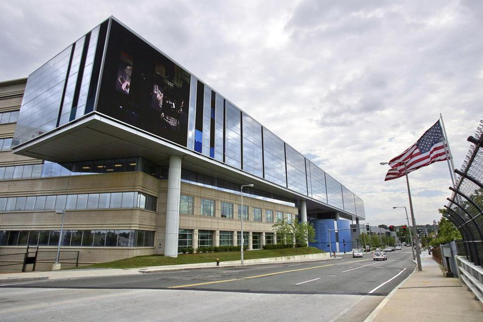WGBH's Brighton headquarters. The public television station received $4.2 million from the state's film tax credit program last year.