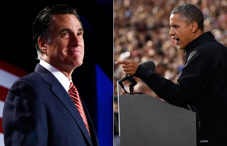 On Thursday, President Obama spoke at the University of Wisconsin and Mitt Romney was at an event in Denver.
