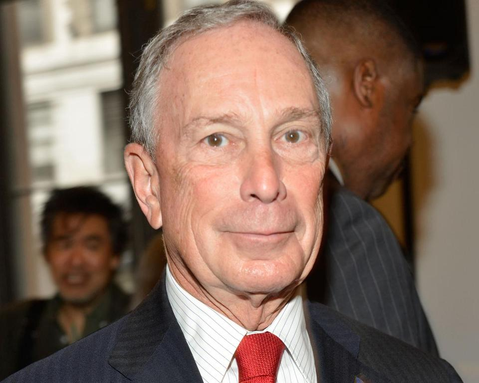 Michael Bloomberg is one of the major backers behind an ad campaign for Angus King.