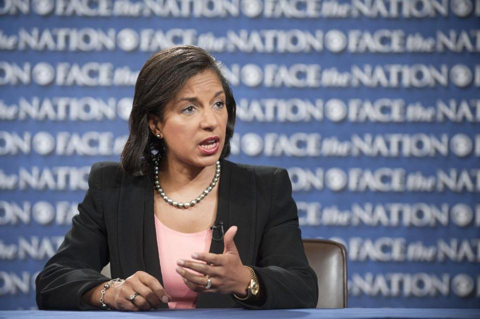 "Susan Rice, ambassador to the UN, appeared on CBS's ""Face The Nation"" Sept. 16."