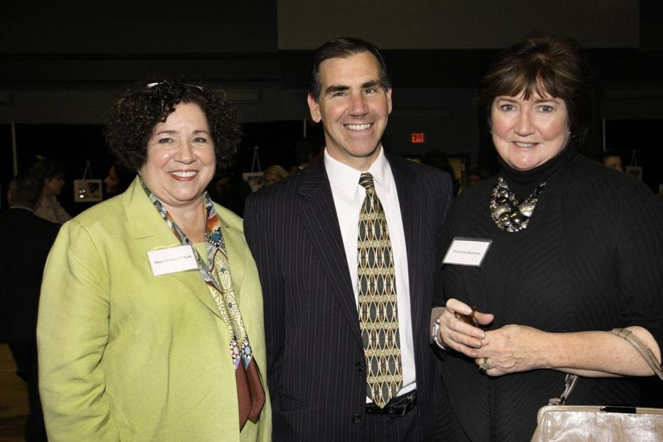 Mary Grassa O'Neill (left) described her tenure as exhilarating and challenging.