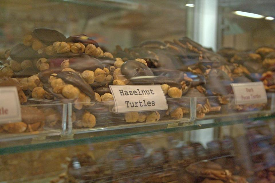 Phillips Candy House has added a hazelnut variety to its signature handmade turtles.