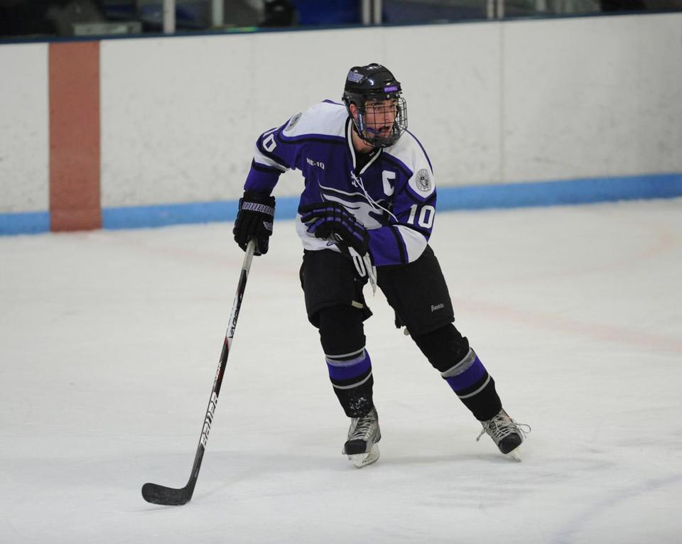 While at Stonehill College, Patrick Green led his team in scoring.