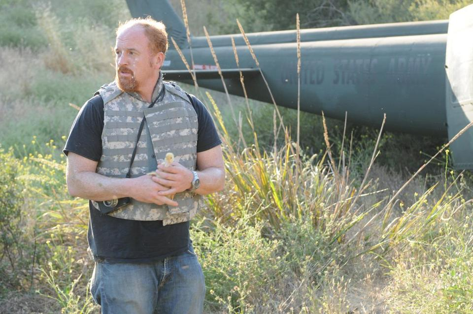 "Louis C.K. will take a break (until 2014) to come up with new episodes for his FX series, ""Louie."""
