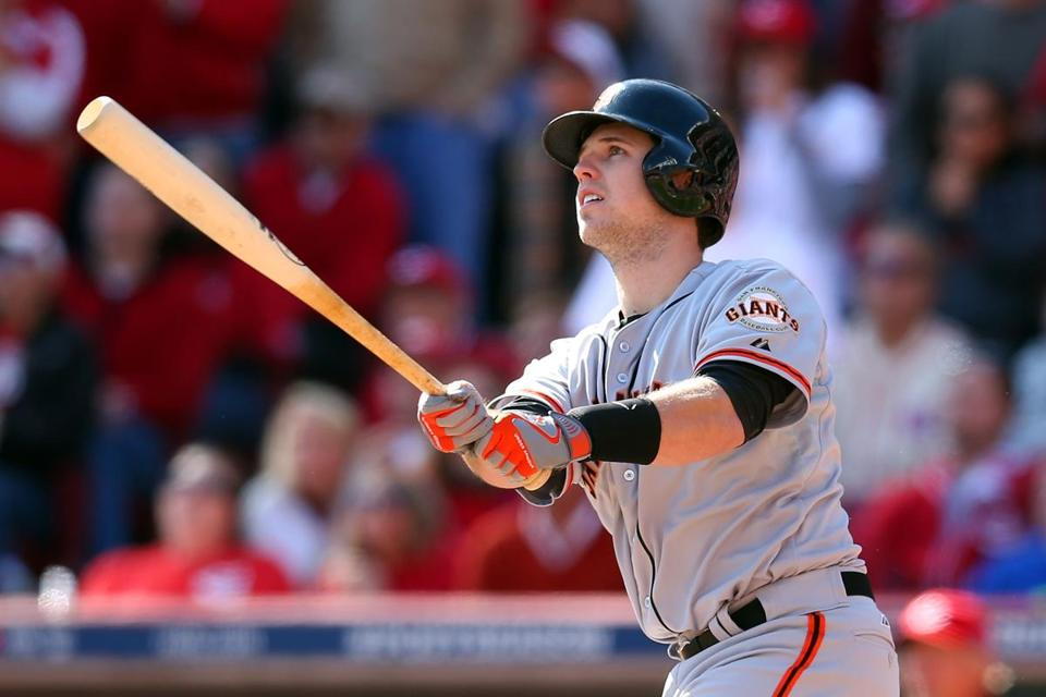 Buster Posey hit a grand slam in the fifth inning.