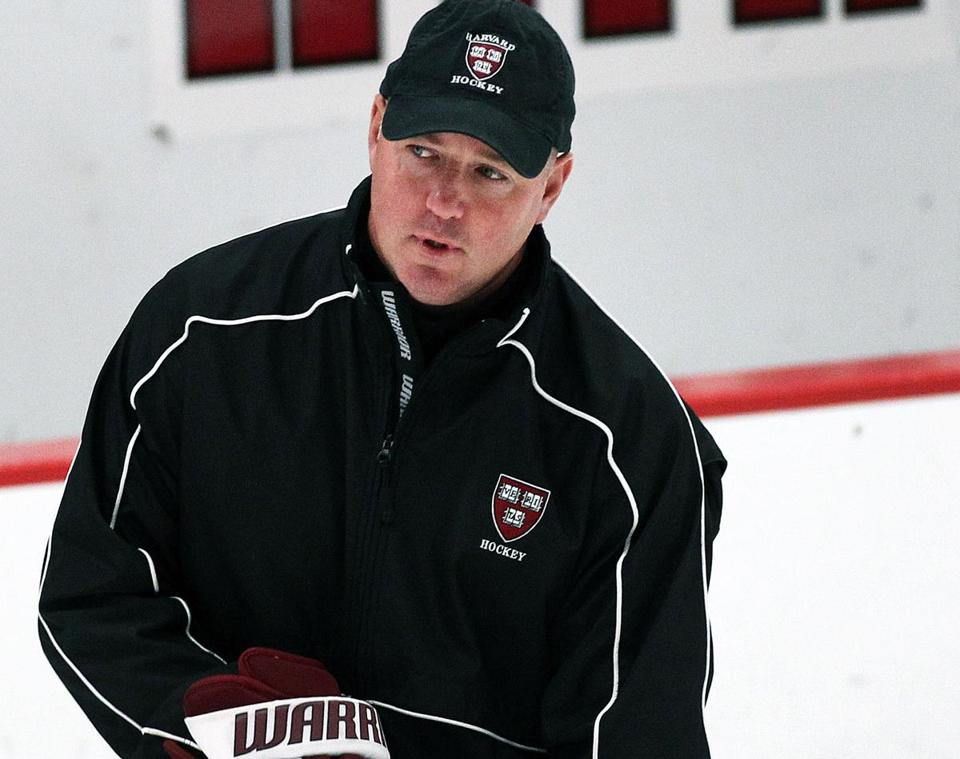 """Obviously, having the No. 1 power play in the country was a big positive,"" said Ted Donato, Harvard hockey coach on his team's ability to play in tight games."