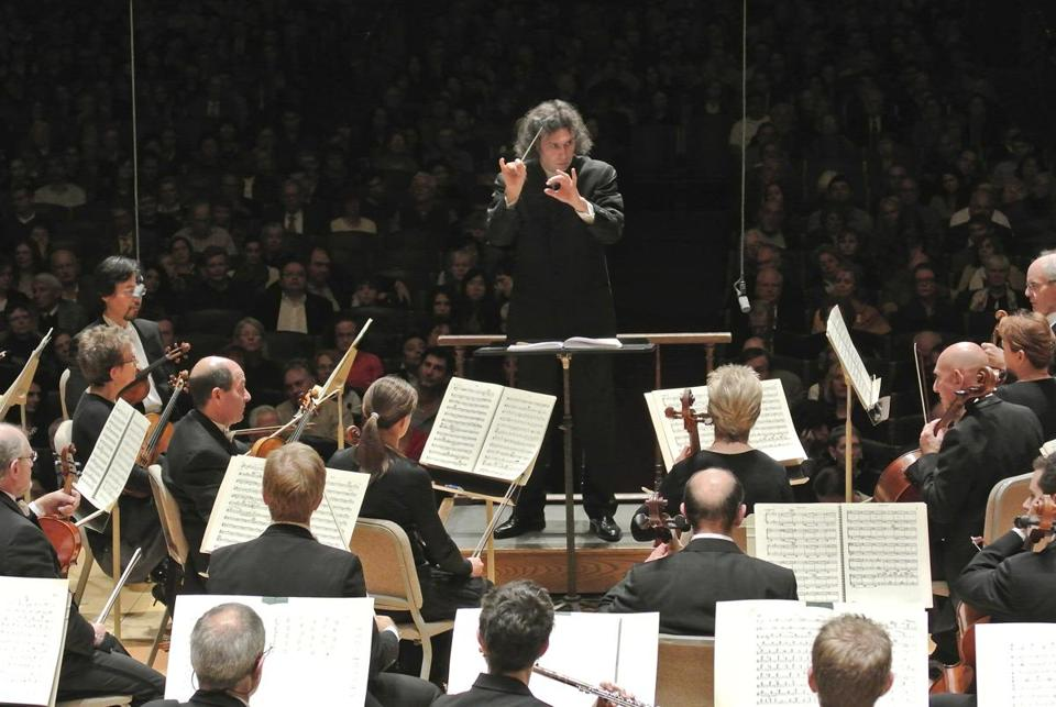 Conductor Vladimir Jurowski made his debut with the Boston Symphony Orchestra at Symphony Hall in October, leading the BSO in Shostakovich's Fourth Symphony.