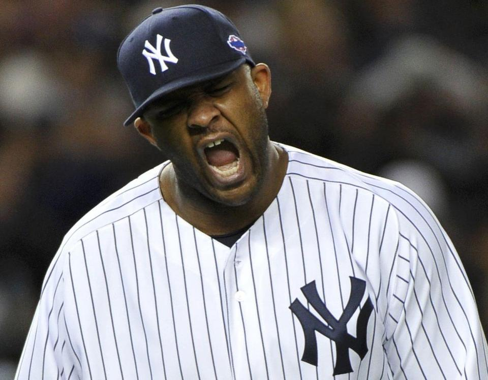 It was the first postseason complete game for CC Sabathia.