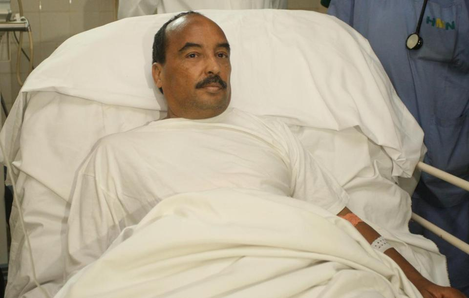 President Mohamed Ould Abdel Aziz was wounded in an arm by a gunshot fired by the military, an incident believed to be an accident.