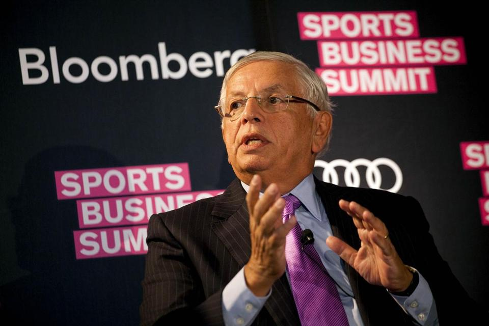 What David Stern realized is that many of the arenas that house Euroleague teams are not up to NBA standards.