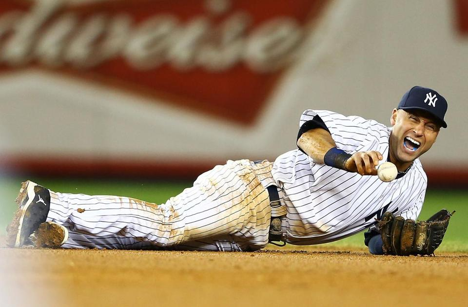 The Yankees lost shortstop Derek Jeter for the remainder of the season with a fractured left ankle.