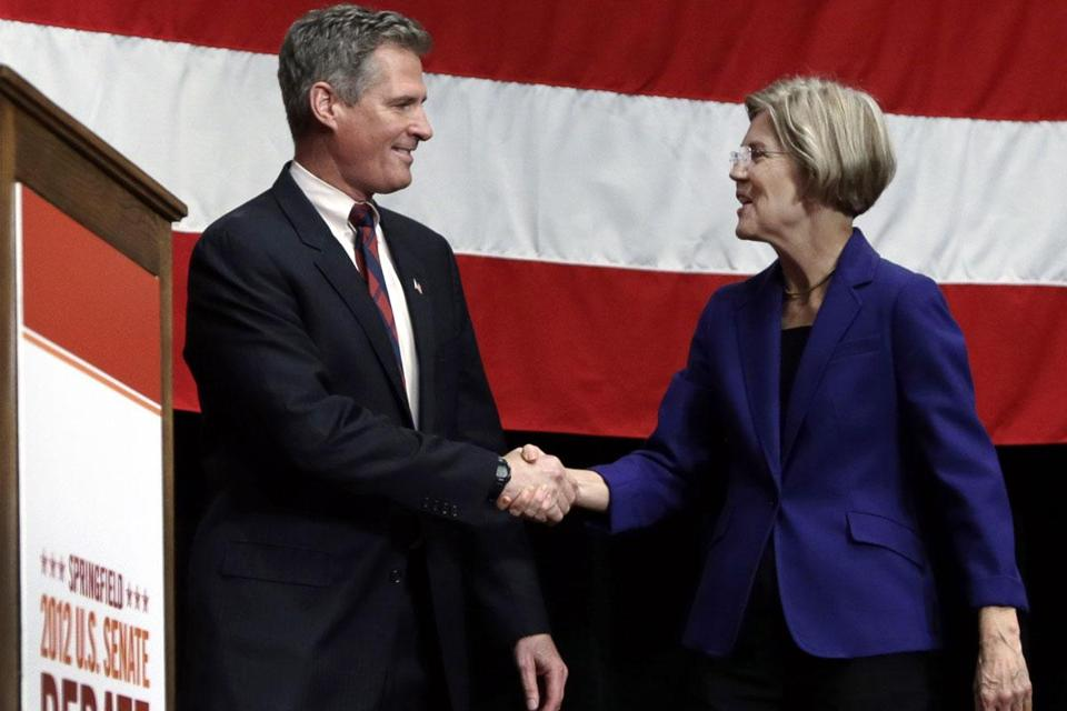Senator Brown's support from the financial industry appears to reflect how much the sector does not want Elizabeth Warren in the Senate.