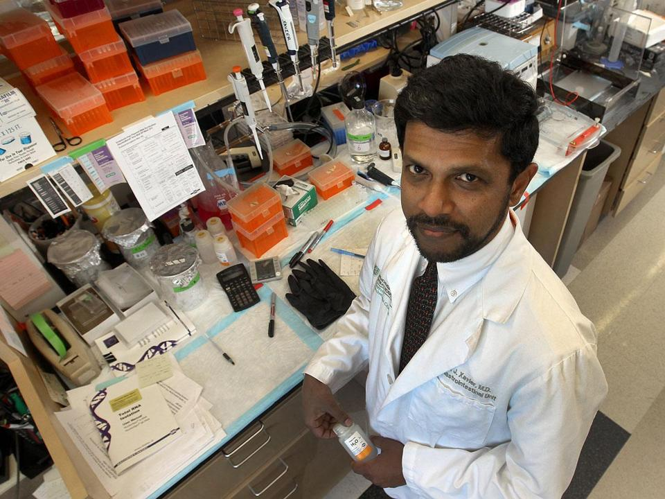 """There's a lot of interest in trying to understand how these bacterial products educate the immune system,"" said Dr. Ramnik Xavier of Mass. General Hospital."