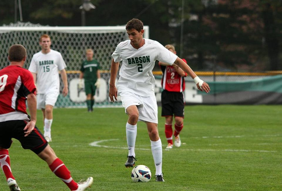 Senior captain Eric Anderson, of Scituate, is leading the Babson Beavers with 14 goals and 36 points.