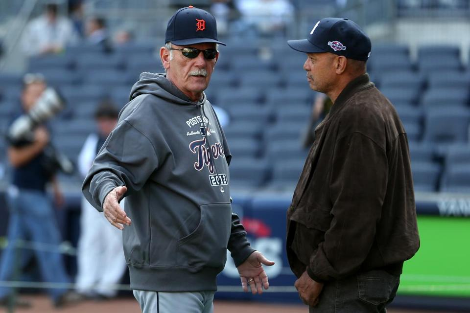 """Believe me, we're not comfortable just yet,"" Tigers manager Jim Leyland said."