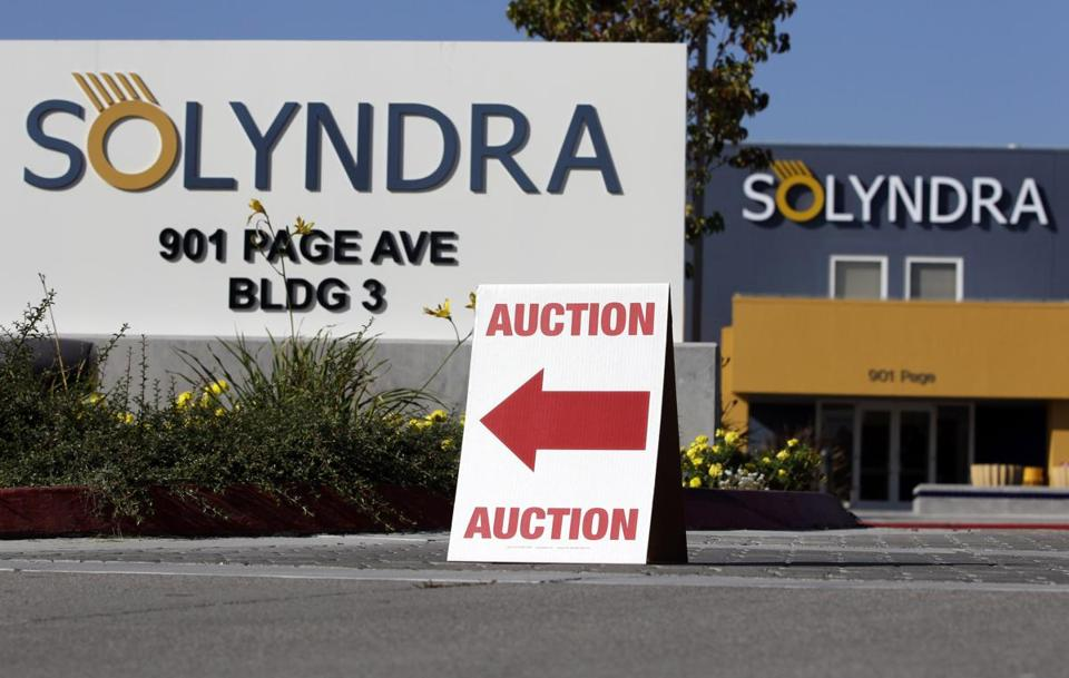 A123 Systems financial slide followed the high-profile collapse of Solyndra, a Fremont, Calif., solar panel maker.