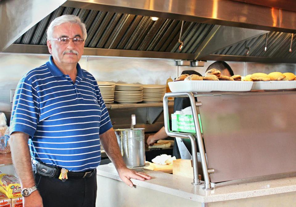 Nick Papachristos is the owner of Nikos in Weymouth, a local favorite for hearty, traditional brunches.