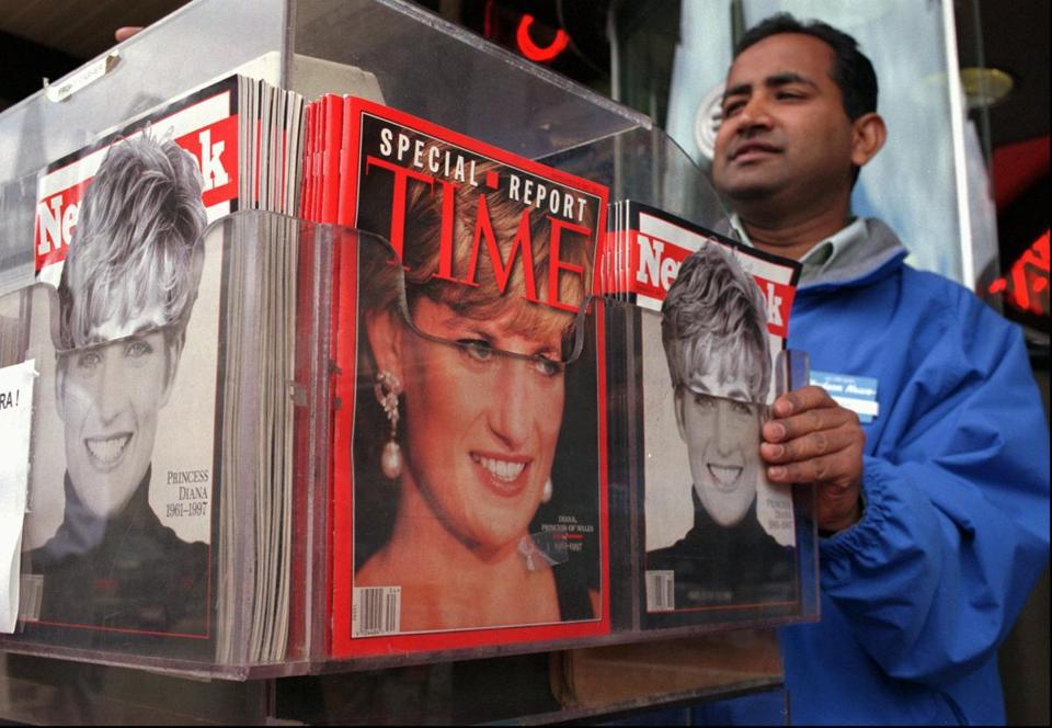 A special issue on Princess Diana after her death.