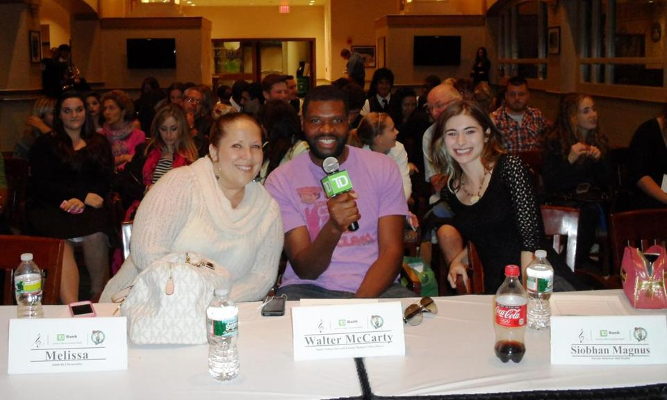 From left: JAMN's Melissa, Walter McCarty, and Siobhan Magnus.