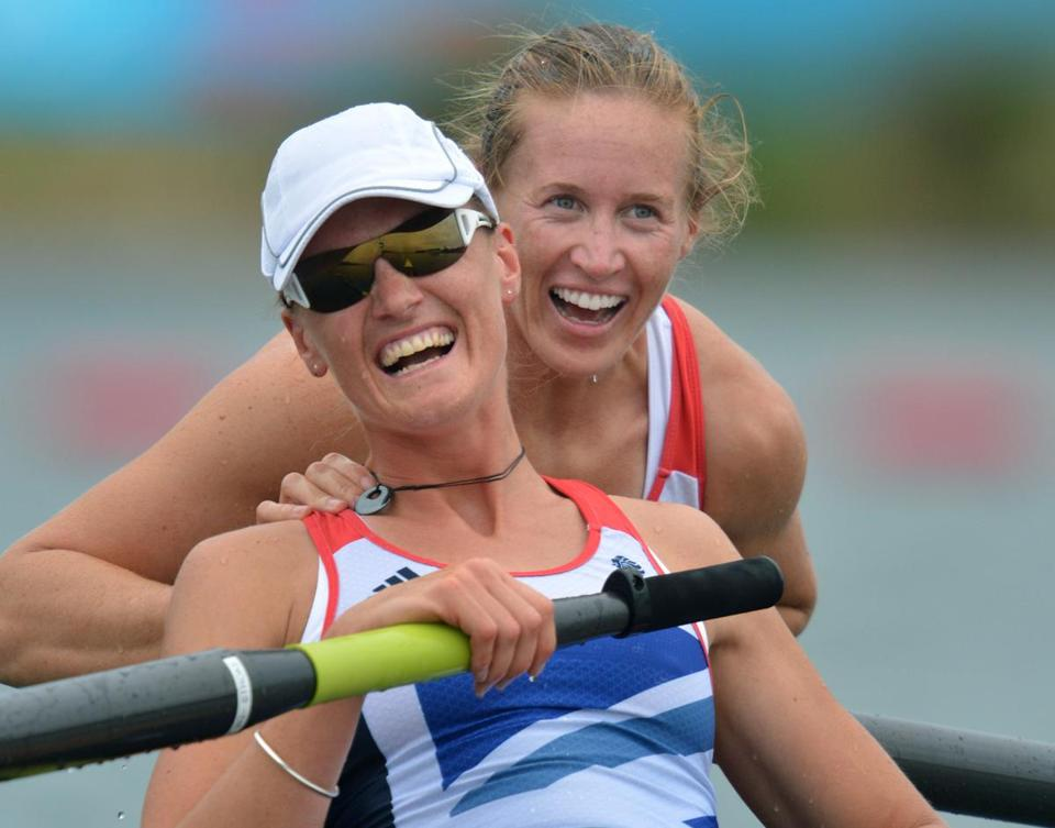 Helen Glover (right) and Heather Stanning, Britain's most famous rowing duo, won the country's first gold medal in women's rowing, at home, in the London Olympics.
