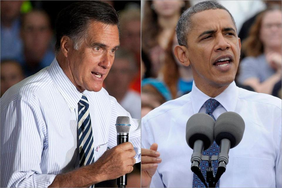 The stage is set for a fierce collision when President Obama and Mitt Romney meet Monday night in Florida for a foreign policy debate.