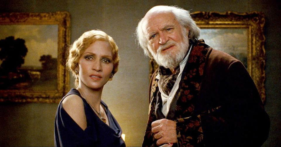 "Halle Berry and Jim Broadbent in a scene from ""Cloud Atlas."""