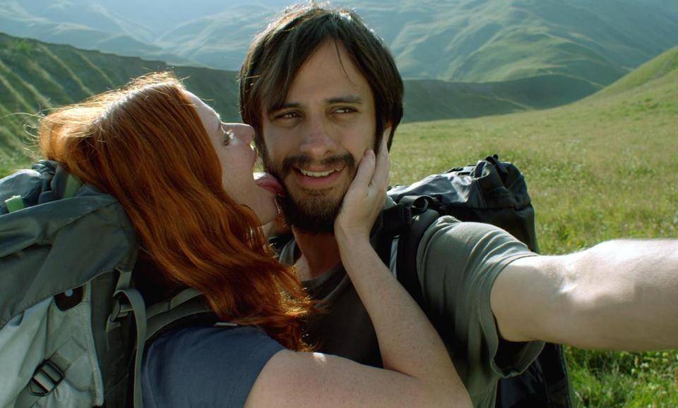 "Hani Furstenberg and Gael Garcia Bernal in director Julia Loktev's ""The Loneliest Planet.''"