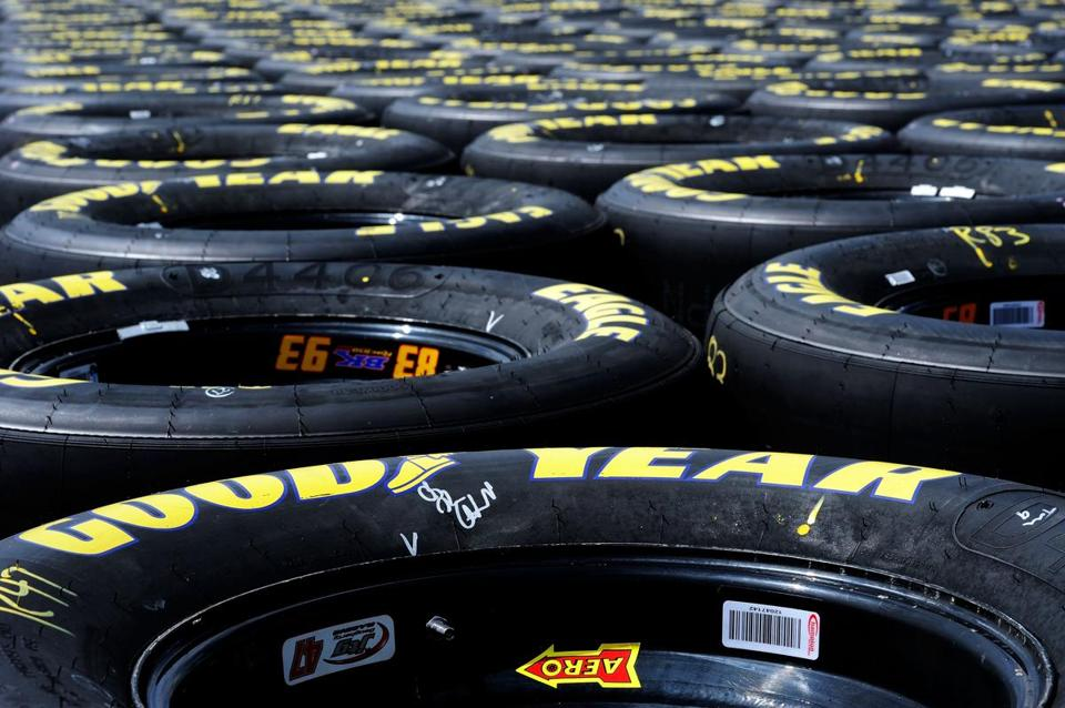 Goodyear said economic problems in Europe offset cost cuts and profits in North America.