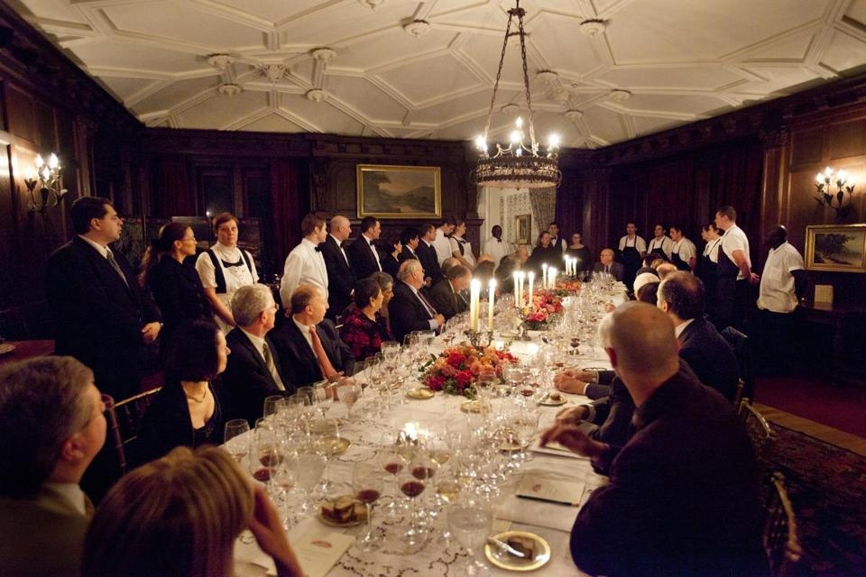 "A wine dinner worthy of ""Downton Abbey"" can be had at Blantyre, a resort hotel in Lenox."