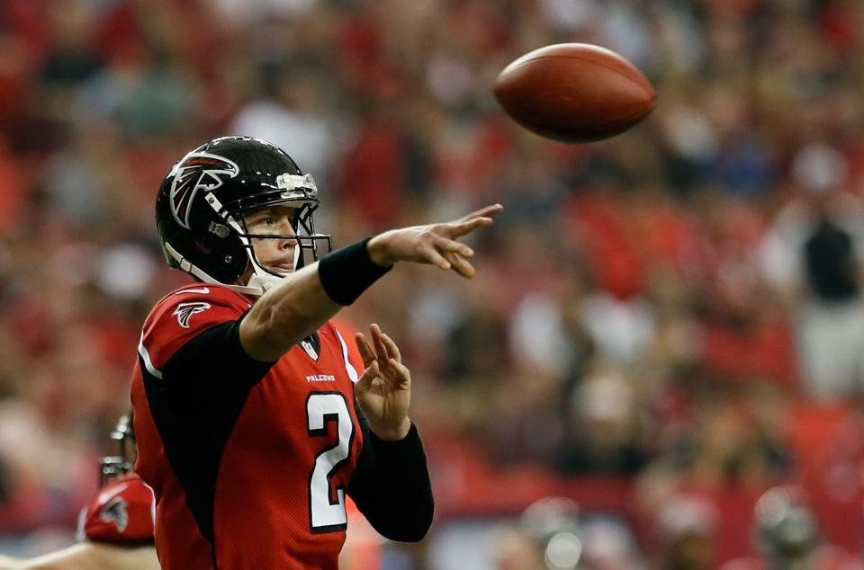 Matt Ryan and the Falcons enter Week 8 as the NFL's only unbeaten team.