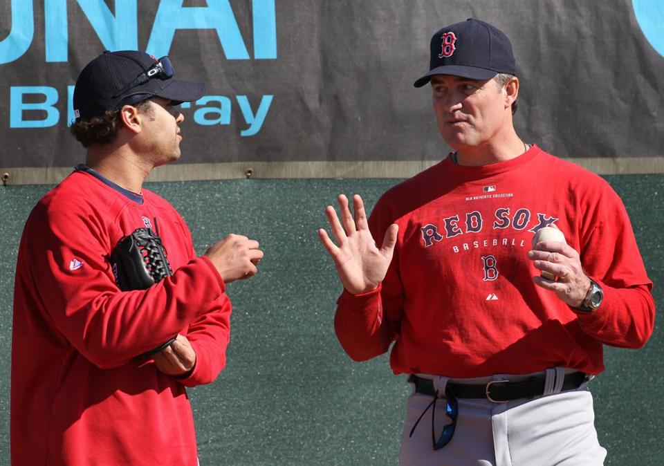 John Farrell spent four seasons as Red Sox pitching coach before beginning his managing career.