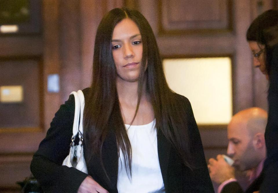 Alexis Wright, 29, pleaded not guilty  to more than 100 counts of prostitution.