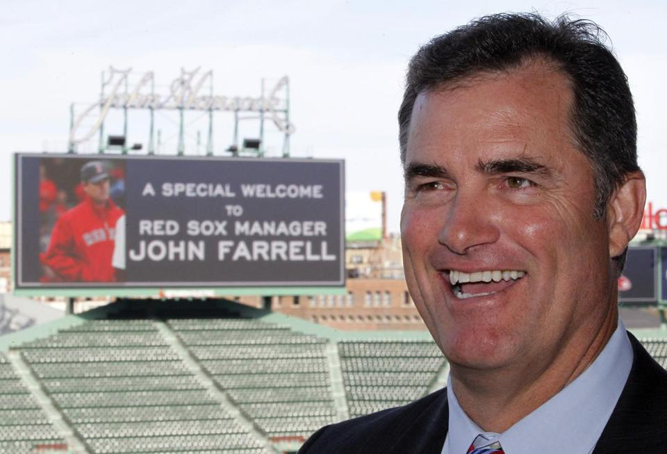 As the Red Sox gather, much of the focus will be on John Farrell.