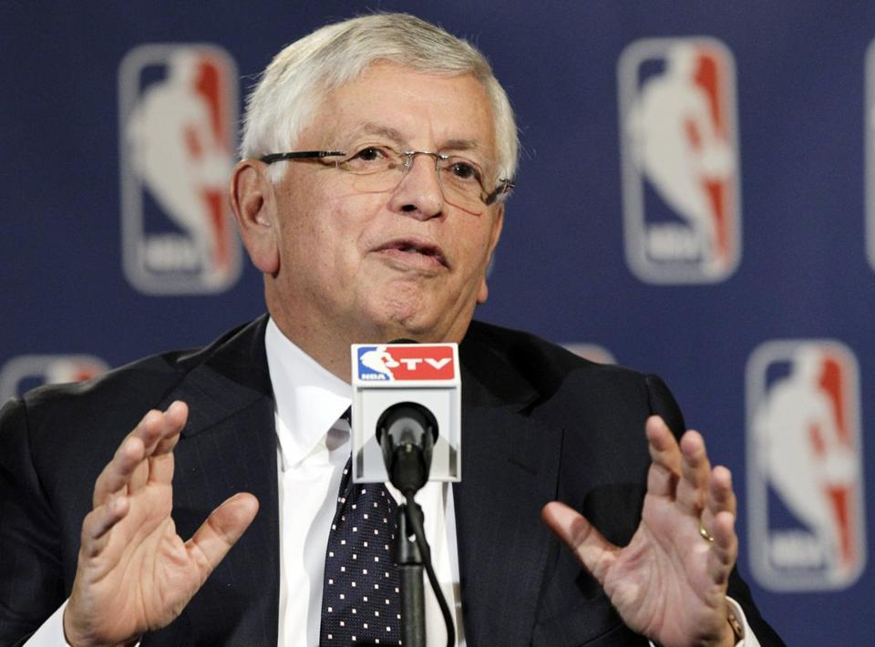 NBA commissioner David Stern announced he will retire on Feb. 1, 2014, 30 years after he took charge of the league.
