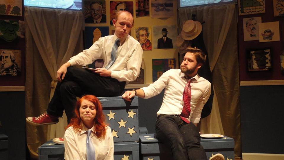 "Bad Habit Productions' ""44 Plays for 44 Presidents"" at the Boston Center for the Arts ."