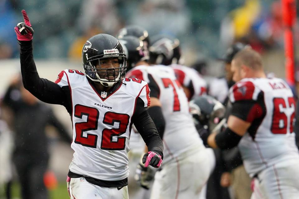 Falcons cornerback Asante Samuel found extra satisfaction in Atlanta's latest win, coming against his former team.