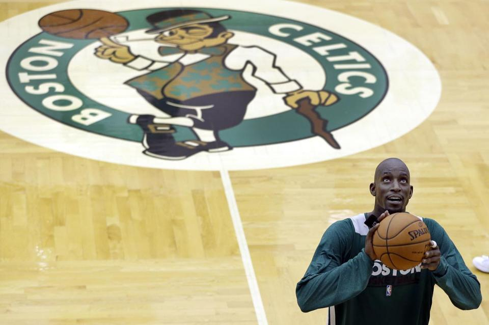 Kevin Garnett and the Celtics tip off their season on Tuesday in Miami.