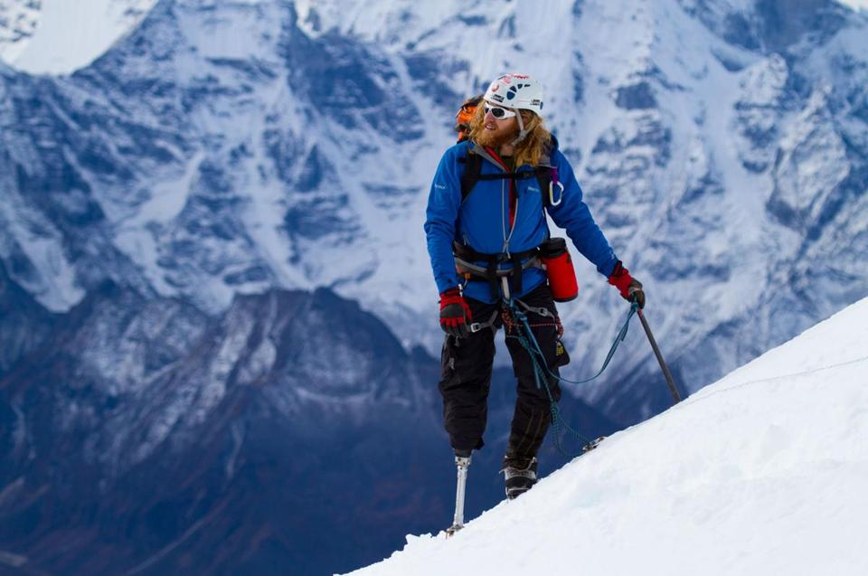 The documentary follows Chad Jukes and 10 other wounded veterans as they scale a 20,075-foot Himalayan mountain.
