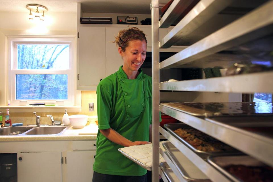 Laura Weinstein, the engineer-marathoner behind Cookie Lady Treats, makes a thousand of them in a week.