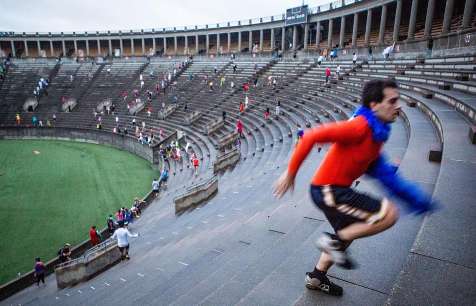 Harvard Stadium is among the university facilities that Olympic organizers are hoping to use for various events.