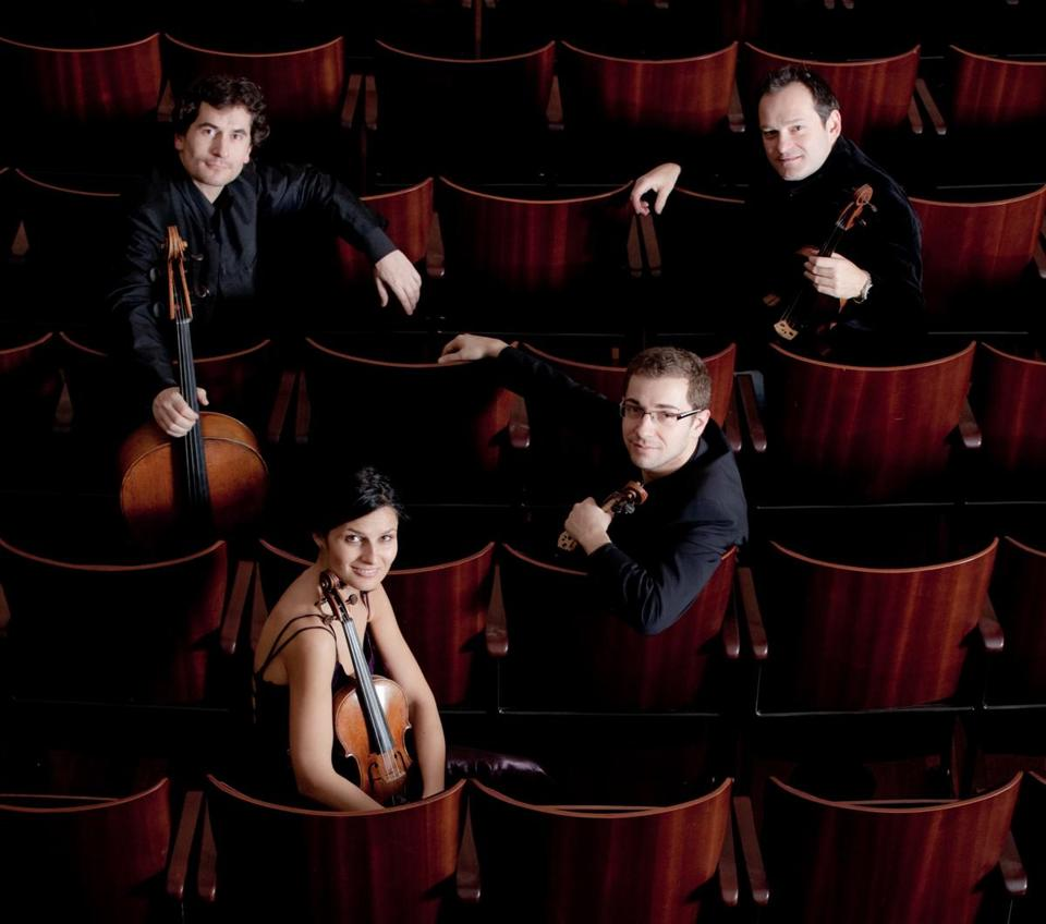 The London-based Belcea Quartet stacked the program Sunday with works from the last two decades of Beethoven's life.